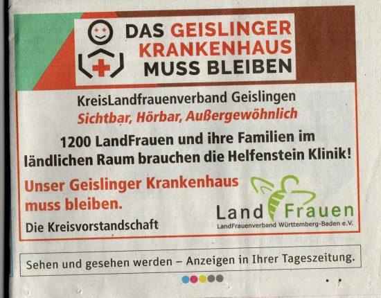 GZ Bericht Helfenstein Klinik Geislingen